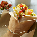 Cereal Bowl Egg & Cheese Breakfast Burrito